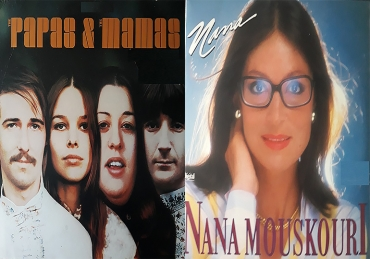 MOUSKOURI Y THE MAMAS&THE PAPAS EN DIAMANTES